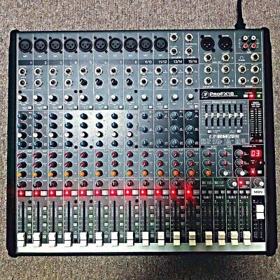 $399.96 • Buy Mackie ProFX16 Professional Mixer And Audio Interface Used From Japan