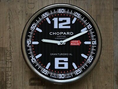 £254.52 • Buy Chopard Mille Miglia Gran Tourismo Xl Dealer Wall Clock New With Barcode