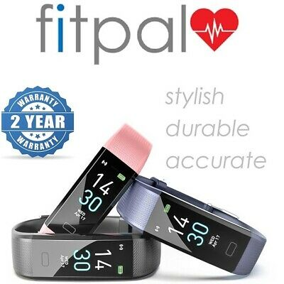 View Details FITPAL Fitness Tracker Smart Watch Sport Step Counter Heart Rate Activity Fitbit • 23.95£