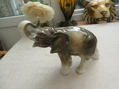 £20 • Buy Collectable Royal Dux Lucky Elephant Large 378 922 China Decorators Item