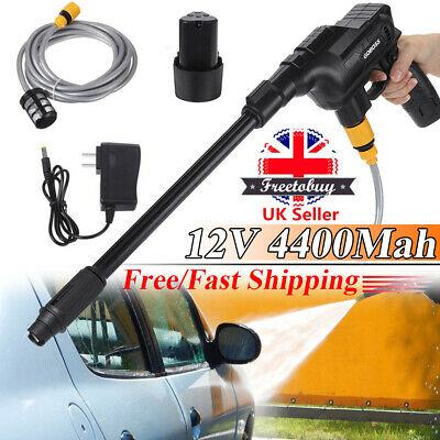£42.95 • Buy Cordless Portable Electric High Pressure Water Spray Gun Car Washer Cleaner