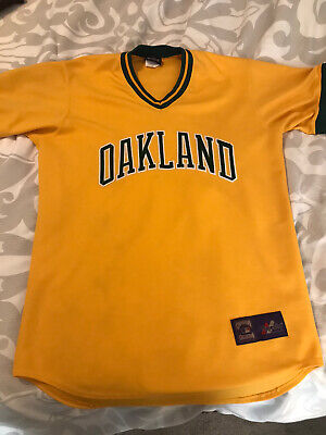 $50 • Buy Oakland A's Jersey Majestic Cooperstown Collection Medium