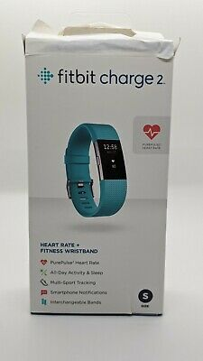 $ CDN27.69 • Buy Fitbit Charge 2 FB407STES Fitness Tracker - Small, Teal