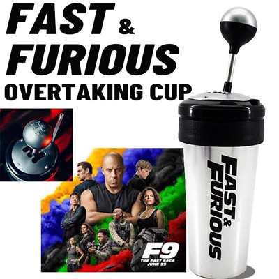 £10.95 • Buy Fast And Furious 9 Movie 650ML Car Water Cup With Straw And Lid Rocker Shift UK