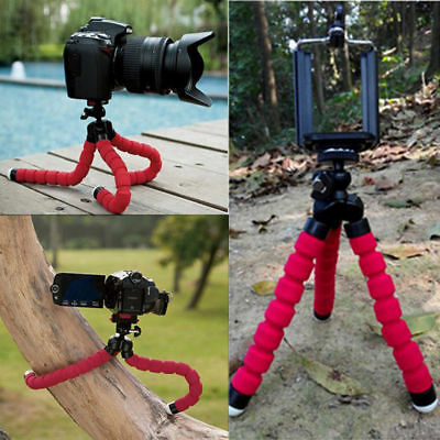 £5.65 • Buy Universal Mobile Phones Tripod Stand Grip Mount Camera Mobile Phone Holder 🔥