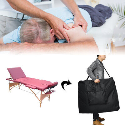£18.96 • Buy Folding Massage Bed Carry Travel Bag Beauty Portable Therapy Couch Salon Case UK