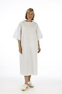 £13.07 • Buy Unisex PATIENT GOWN - Wrap Around Style - Hospital