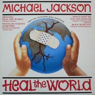 £22.49 • Buy Michael Jackson - Heal The World (Special Poster Bag Edition) (12 )