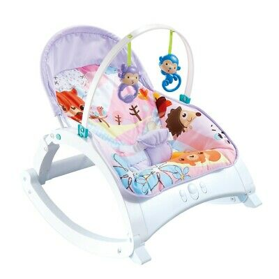 £42.88 • Buy Baby Bouncer Swing Chair Cradle Rocker Seat Bouncy Rocking With Music ZY