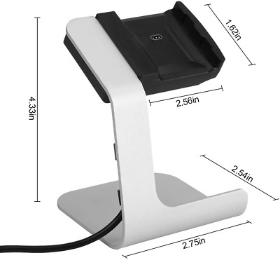 $ CDN20.02 • Buy Fitbit Ionic Stand Charger, Designed By Tranesca, Gray Color, Model: WTSTD013