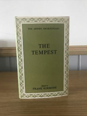 £7.99 • Buy The Arden Shakespeare The Tempest  Edited By Frank Kermode  HB DJ 1966