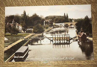 £5 • Buy Maidenhead Guards Club And Bridge. Unused Card By Frith. 23629A.