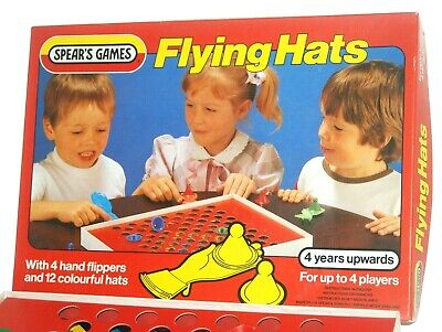 £6.95 • Buy Spears Games Flying Hats Game 100% Complete - 1982