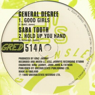 £22.49 • Buy General Degree / Saba Tooth / Lukie D / General B - Good Girls / Hold Up You ...