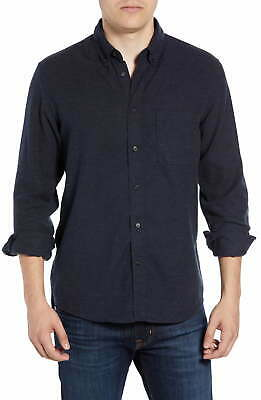 $25.99 • Buy Billy Reid Mens Shirt Heather Blue Large L Tuscumbia Button Up Flannel $195 257