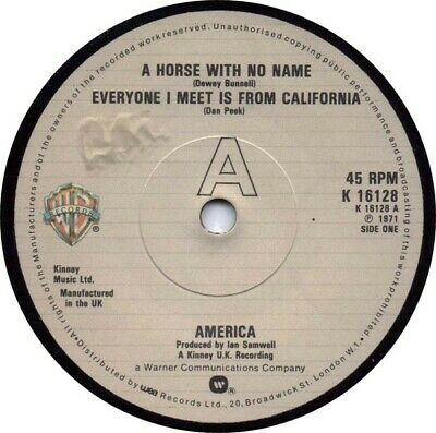 £7.99 • Buy America  - A Horse With No Name (7 , Single, RE)