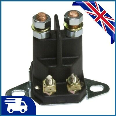 £10.95 • Buy 4Pole12V Solenoid Fits Many Lawn Tractor Ride On Mower 1134-2946-0218736100/0 UK