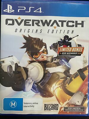 AU25 • Buy Overwatch: Origins Edition | PS4 | FREE SHIPPING