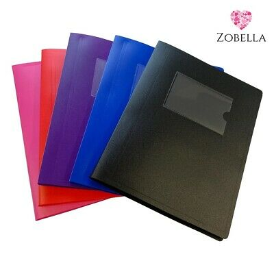 £2.79 • Buy A5 Display Books, Presentation Folder File - Various Bright Colours