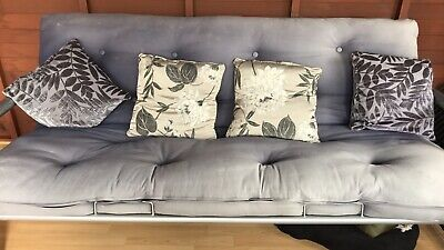 £51 • Buy Silver Frame And Grey Mattress Goes Into Double. Pick Up Only.