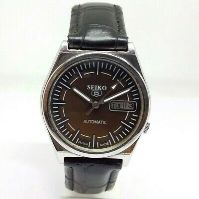 $ CDN38.07 • Buy Vintage Men's Seiko 5 Automatic Day & Date Wrist Watch In Excellent Condition