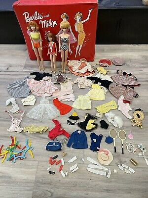 $ CDN74.27 • Buy VINTAGE 1960's BARBIE SKIPPER DOLLS CLOTHING ACCESSORIES AND MORE NR CLEAN LOT!!