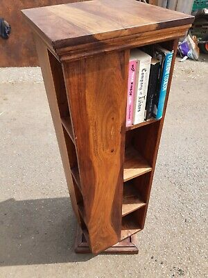 £60 • Buy John Lewis Revolving Wooden Book Case , Video Stand