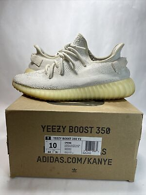 $ CDN201.42 • Buy Adidas Yeezy Boost 350 V2 Cream/Triple White Size 10 CP9366 Pre Owned Kanye West