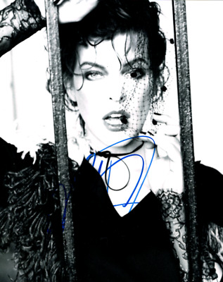 $25 • Buy Milla Jovovich Signed 8 X 10 Photo~~Very Cray Photo For The For The Strange~~