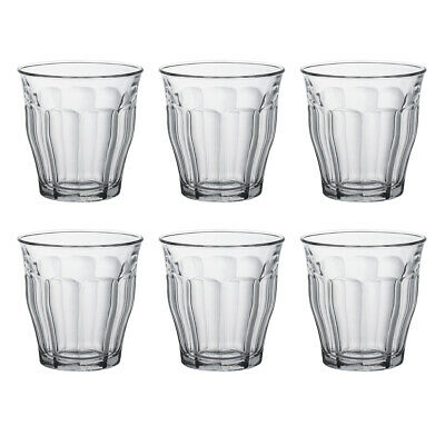 £10.90 • Buy Duralex Set Of 6 Picardie Tumblers, 25cl Traditional French Glass Drinkware
