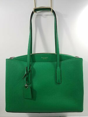 $ CDN54.13 • Buy Kate Spade NY Grass Green Leather Shoulder Tote Purse