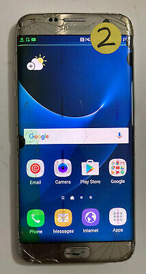 $ CDN54.07 • Buy Samsung Galaxy S7 Edge 32GB - Gold Platinum (AT&T) & UNLOCKED- AS IS For PARTS