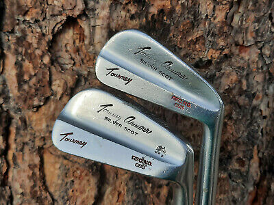 $99.99 • Buy Macgregor Tommy Armour Tourney 985 Irons Stiff Steel Silver Scot #w89