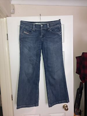 £3 • Buy Diesel Lambry Blue Jeans Size 32W 30L Missing Two Middle Buttons