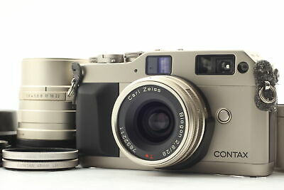 $ CDN1103.30 • Buy [ MINT ] Contax G1 Film Camera Body 28mm 90mm Lens Filter Hood Cable From JAPAN