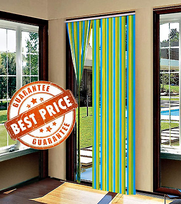£7.99 • Buy NEW PVC Door Strip Curtain Stop Flying Insect Mosquito Bug Blinds Screen Flies