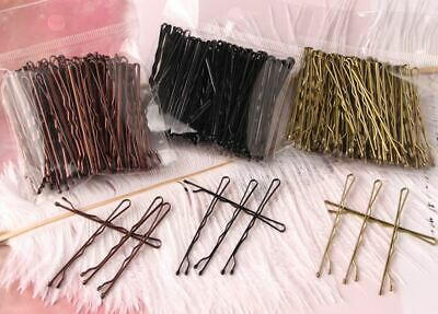 £2.89 • Buy 50PCS Strong Metal Large 6CM Waved Bobby Pin Hair Grips Clips Slides