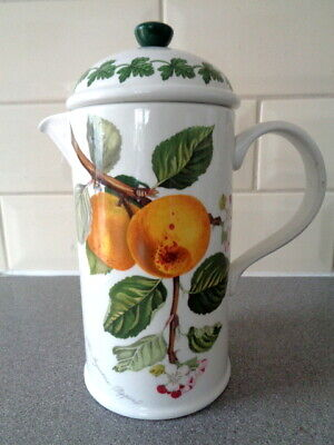 £16 • Buy Vintage PORTMEIRION Pomona Ingestrie Pippin Cafetiere Coffee Pot