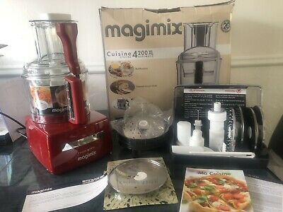 View Details Magimix 4200XL Food Processor | Red New & Unused In Box With Various Attachments • 102.00£