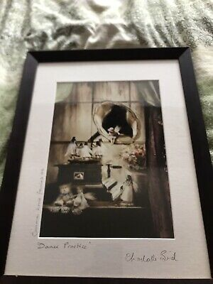 £20 • Buy Charlotte Bird Authentic Framed Print Dance Practice- House Fairies 06 Signed