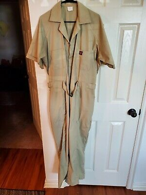 $4.88 • Buy Vintage Tom Cat Nine Lives Mens Light Weight Tan Sz X Large Jumpsuit Coverall