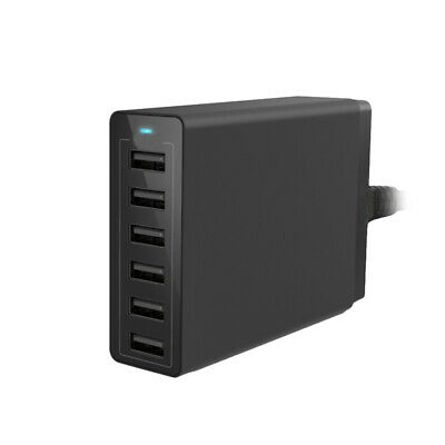 AU26.99 • Buy 6 Ports USB Wall Charger 50W 10A Phone Charging Station 2.0 Charging Hub