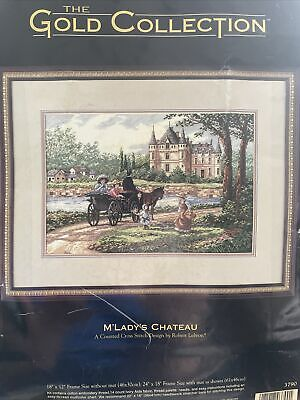 £45 • Buy Dimensions Gold Collection Cross Stitch Kit 3790 M'Lady's Chateau