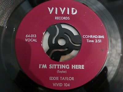 £0.99 • Buy Eddie Taylor - I'm Sitting Here / Do You Want Me To Cry - Usa - Very Good++