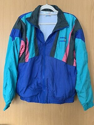 £5.50 • Buy Vintage Shell Suit Jacket Size S By Concordia