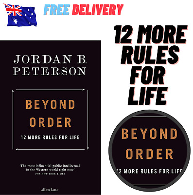 AU27.49 • Buy Beyond Order: 12 More Rules For Life By Jordan B. Peterson | Paperback Book NEW!
