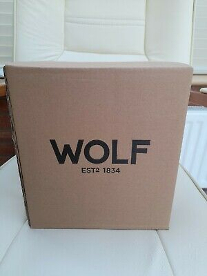 $ CDN133.30 • Buy Wolf Heritage Single Watch Winder With Cove 270002 -brand New In Box - Rrp ££380
