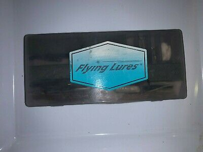 $ CDN11.99 • Buy Vintage Alex Langer's Flying Lures FISHING  Kit WITH Box, Lures, Jig Heads