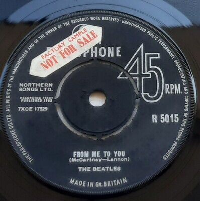 £19.99 • Buy The Beatles From Me To You Rare MZT UK 7  Factory Sample Parlophone R5015 VG+