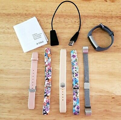 $ CDN62.93 • Buy Fitbit Alta Activity Tracker Size Small Grey Band W/ 5 Extra Bands & ChargeCable